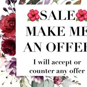 🌟Make me an offer!!!!